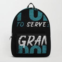 Grammar Police Officer Backpack