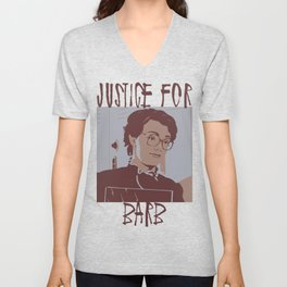 Justice for Barb Unisex V-Neck