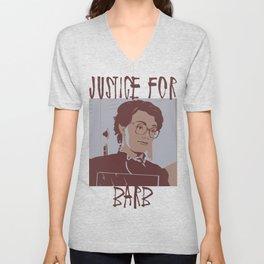 Justice for Barb Unisex V-Neck