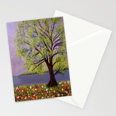Summer landscape-2 Stationery Cards