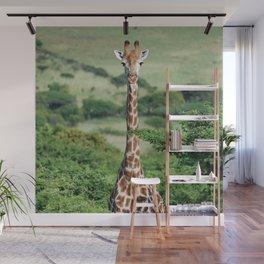 Giraffe Standing tall Wall Mural