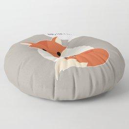 for fox sake Floor Pillow