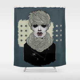 Insomniac Shower Curtain