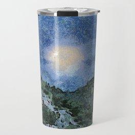 Starry Night Sunrise Travel Mug