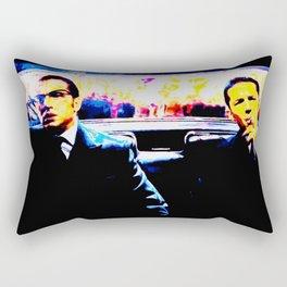 2 Brothers in England (Legend)1 lightcolour Rectangular Pillow