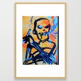 zombieart Framed Art Print