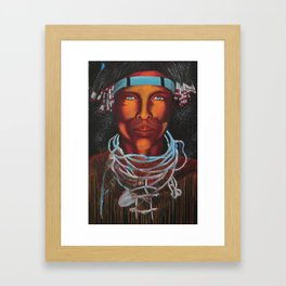 Aborigional  Framed Art Print