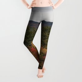 Autumn In NH Leggings