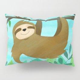 Cute Sloth Pillow Sham