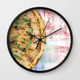 Pizza Power! Wall Clock