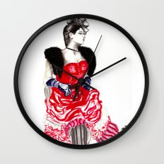 Can Can Dancer Wall Clock