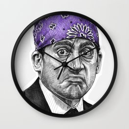 Prison Mike - TV Inspired Art Wall Clock