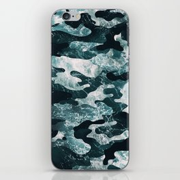 Surfing Camouflage #2 iPhone Skin