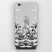 yellow submarine iPhone & iPod Skins featuring Yellow Submarine by Inquietto