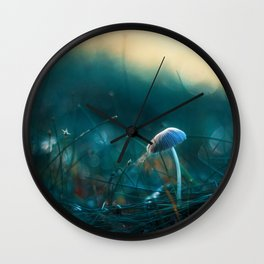 In the Dusk of Dawn Wall Clock