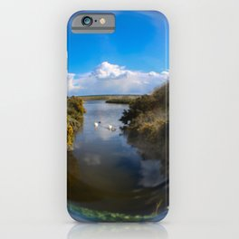 floating lake iPhone Case