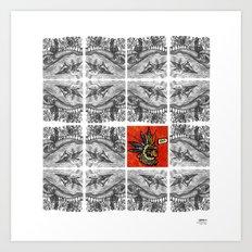 Idioteque mesopotamia Art Print