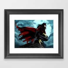 FFVII - Vincent Framed Art Print