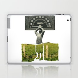 Don't Let The Speed Of Time, Fence You In...... Laptop & iPad Skin