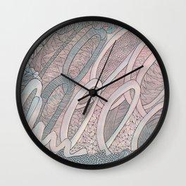 Something Silver Wall Clock