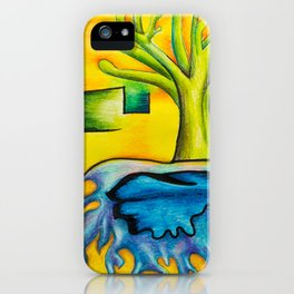 Levels - Mazuir Ross iPhone Case
