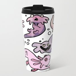 axolotls goofin Metal Travel Mug