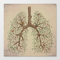 breathe Canvas Prints featuring Breathe! by Marchelord