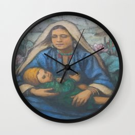 Mother and Child Wall Clock