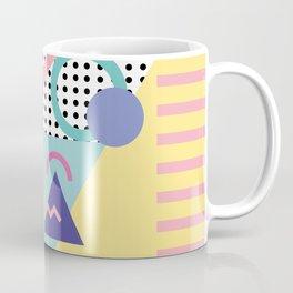 Memphis Pattern 5 - 80s - 90s - Retro Coffee Mug