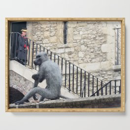 London Tower Monkey Serving Tray
