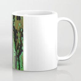 Green, Black, & Gold Coffee Mug