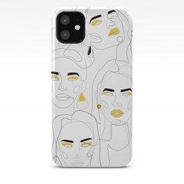 In Mustard iPhone Case