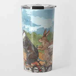 Bike Race Travel Mug
