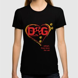 My Dog Rescue Love T-shirt