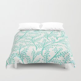 Branches – Mint Palette Duvet Cover