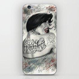 Kat Von D iPhone Skin