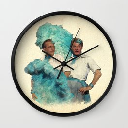 Reprise (Sisters) Wall Clock