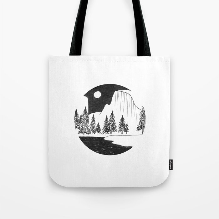 Half Dome Yosemite Tote Bag
