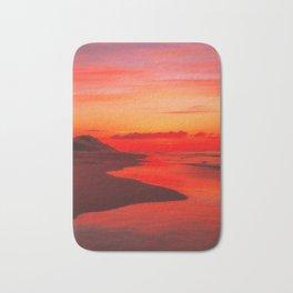 December Sunset Bath Mat