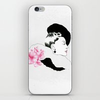 helen iPhone & iPod Skins featuring Helen by youdesignme