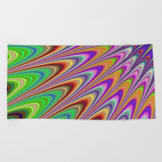 Magical summer sunshine Beach Towel