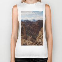 marble Biker Tanks featuring Marble Canyon by Kevin Russ