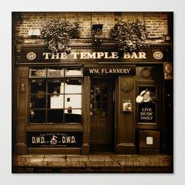 The Temple Bar Canvas Print