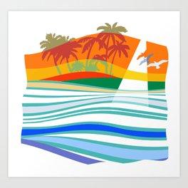 Come Sail with Me Art Print