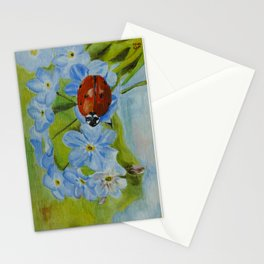 Lady Bug Stationery Cards