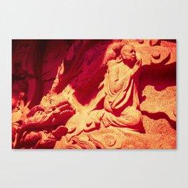Dragon's Pray Canvas Print