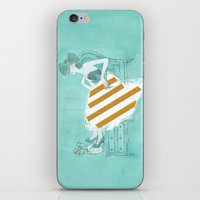 tiffany iPhone & iPod Skins featuring Tiffany by Shaina Anderson