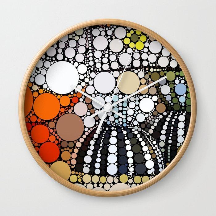 cathrine bowls Wall Clock