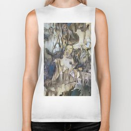 Day Dreaming - Abstract Study Biker Tank