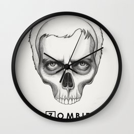 Gregory House Skull House MD Art Wall Clock